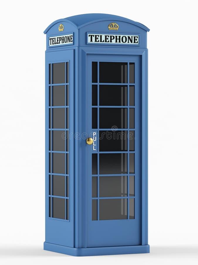 Cabina de teléfonos británica stock de ilustración