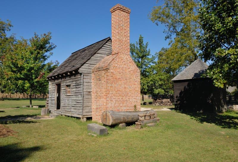 Cabina de Williamsburg imagen de archivo