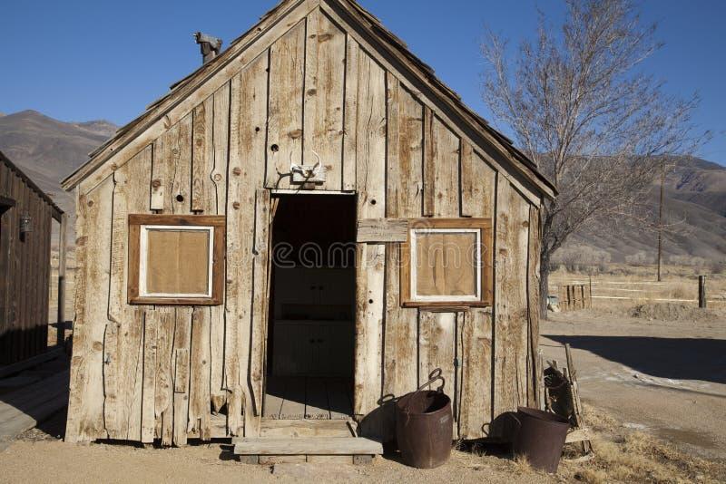 Cabina dei minatori fotografia stock