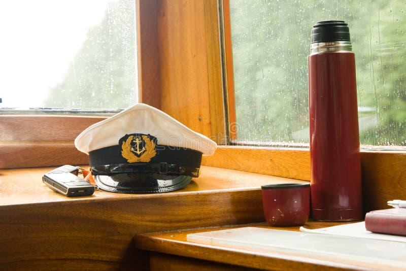 Cabina del capitán foto de archivo libre de regalías