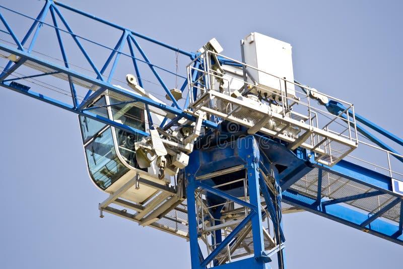 Cabina della gru immagine stock immagine di cockpit for Una planimetria della cabina del telaio