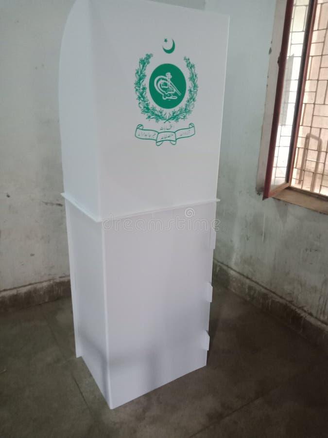 Cabina di elezione immagine stock