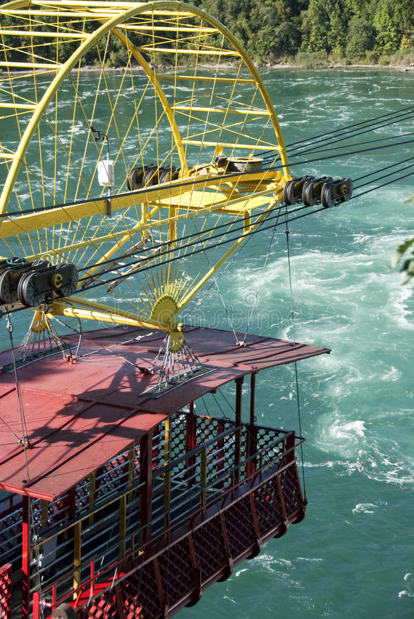 Cabina di funivia Niagara Falls fotografia stock