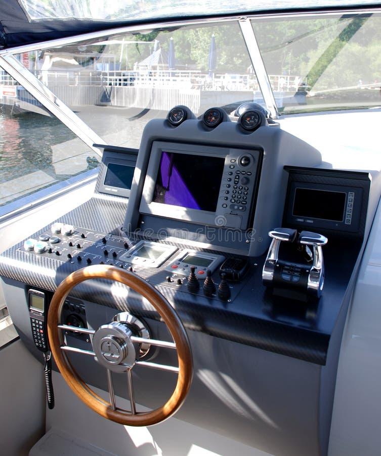 Cabina di guida della barca fotografia stock immagine di for Planimetrie della cabina di log