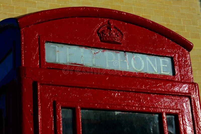 Cabina di telefono fotografie stock