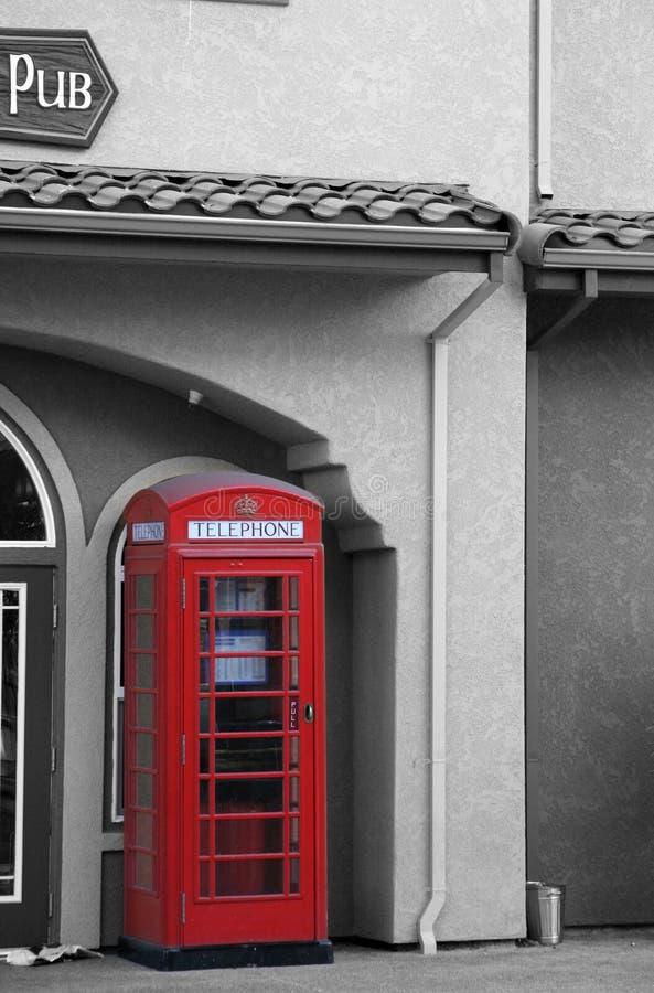 Cabina di telefono immagini stock libere da diritti