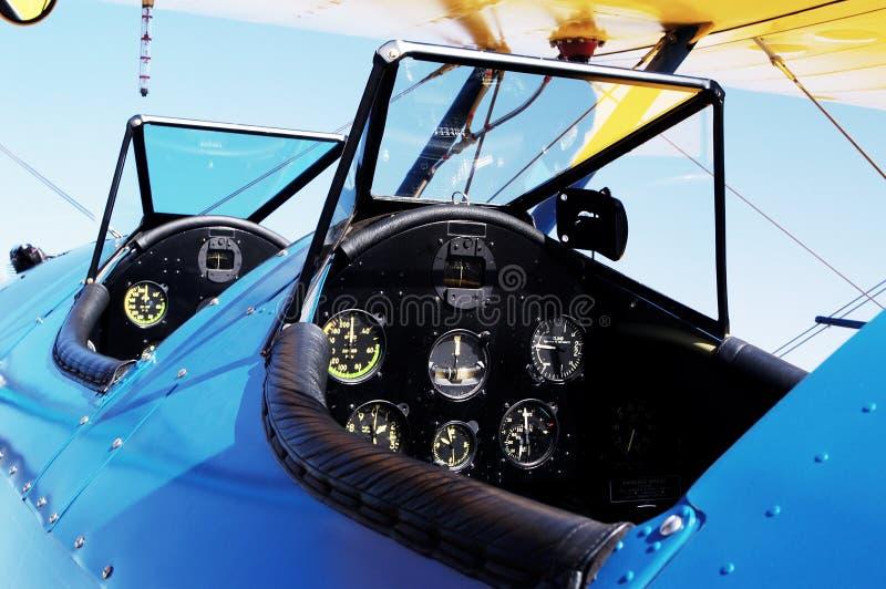 Cabina do piloto de Anatique fotografia de stock royalty free