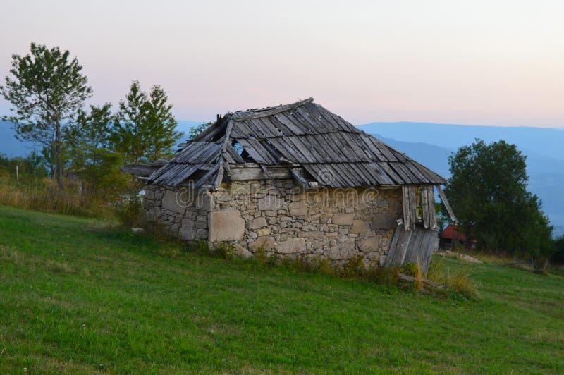cabina oxidada vieja imagen de archivo libre de regalías