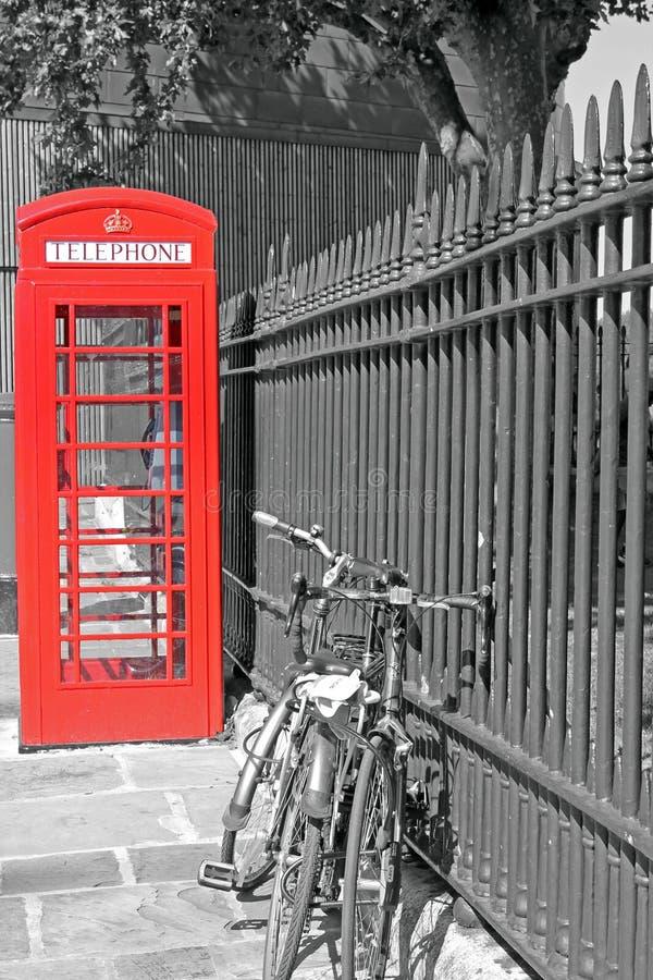 Cabina telefonica immagini stock libere da diritti