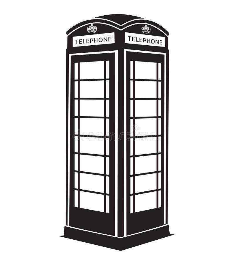 Cabina telefonica royalty illustrazione gratis