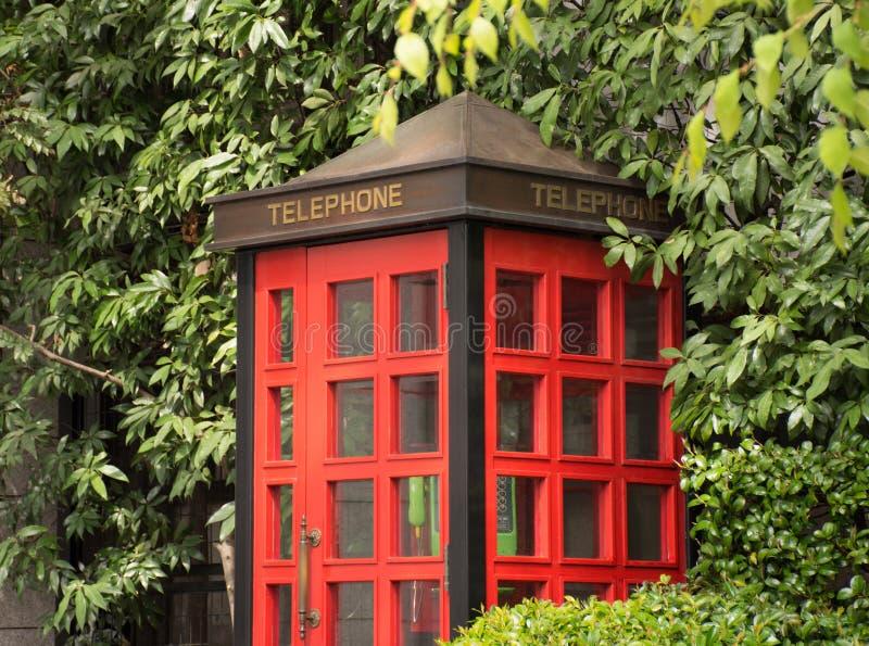 Cabina telefonica immagini stock