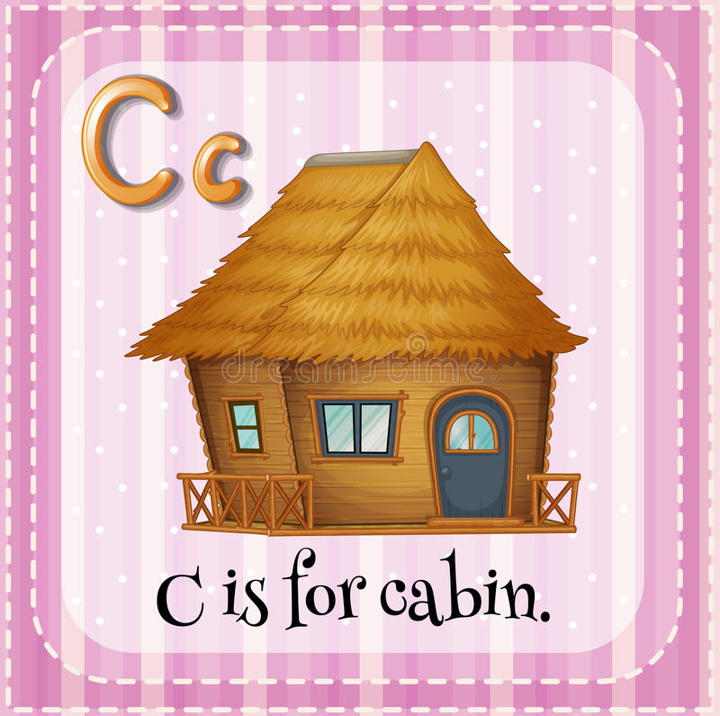 cabine stock illustratie
