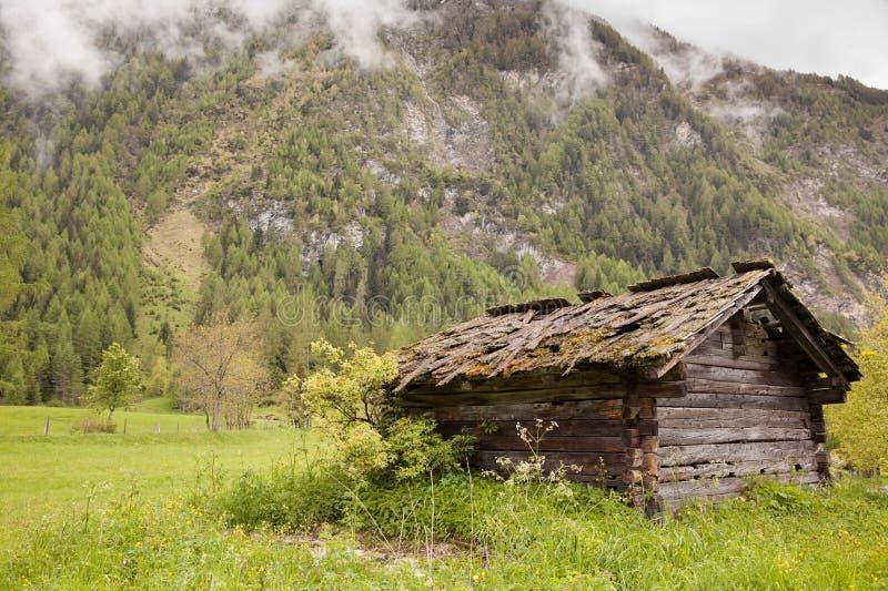 Cabine abandonnée photo libre de droits