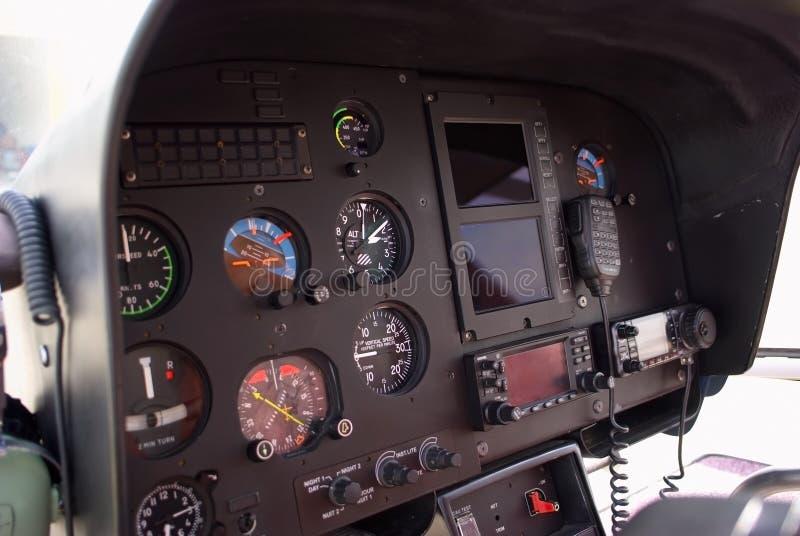 Cabine d'hélicoptère photo libre de droits