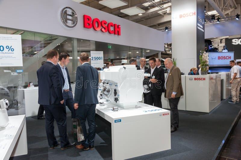 Cabine de Bosch Empresa no IAA 2016 imagem de stock
