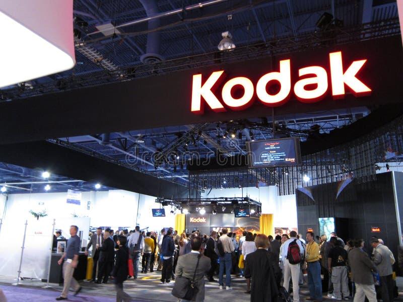 Cabine de Kodak à CES 2010 photographie stock libre de droits