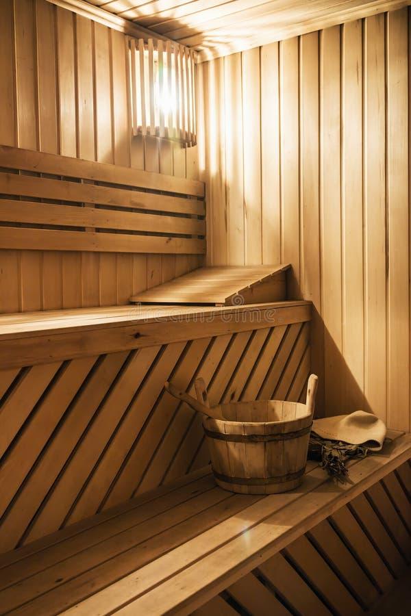 cabine de madeira da sauna com acess rios da sauna foto de stock imagem de relaxation quente. Black Bedroom Furniture Sets. Home Design Ideas