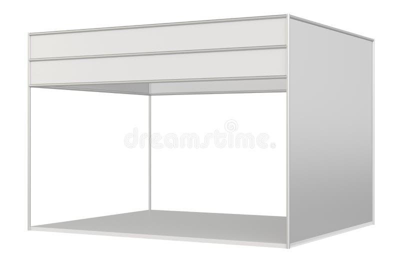 Cabine de salon commercial illustration stock
