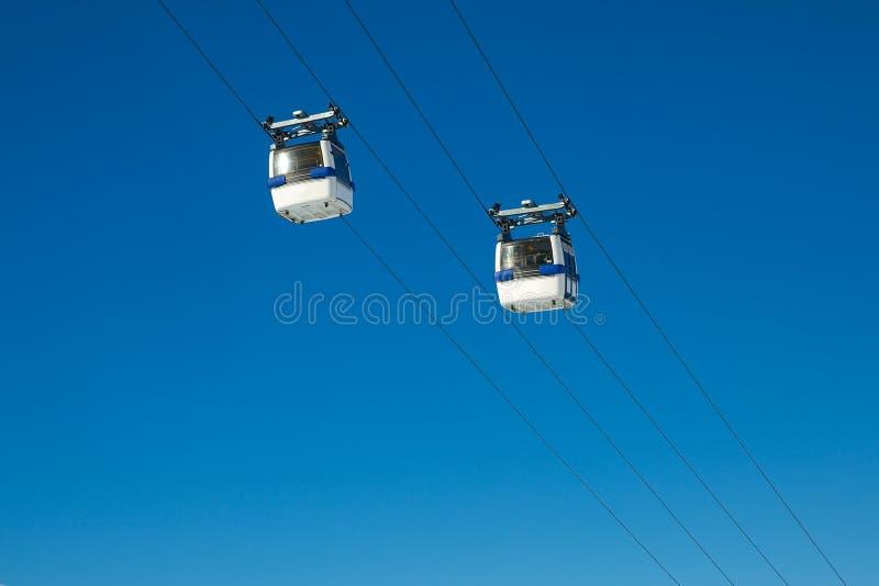 Cabine de ski photos stock