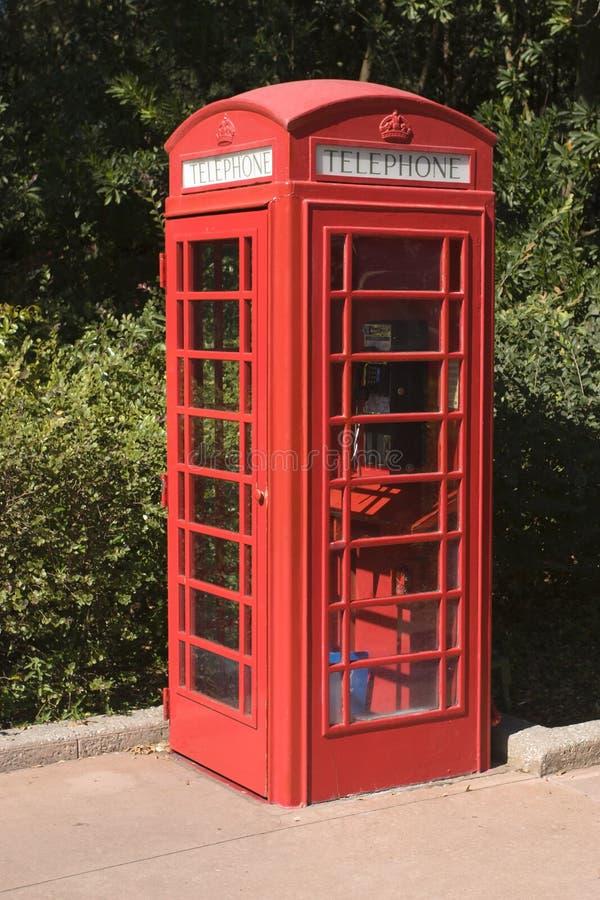 Cabine de telefone britânica fotos de stock royalty free