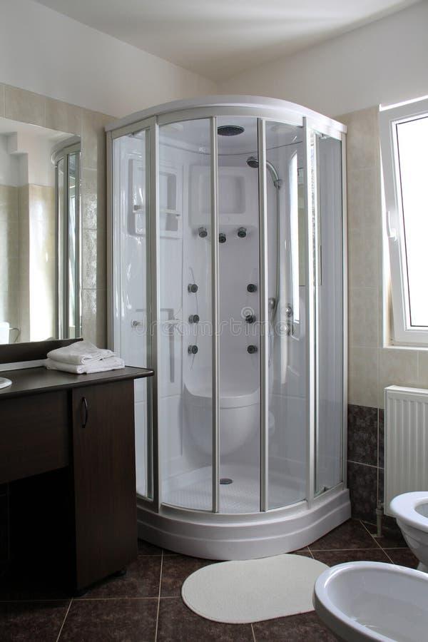 Cabine do chuveiro foto de stock