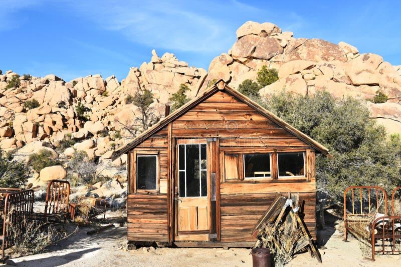 A cabine fecha o rancho fotos de stock royalty free