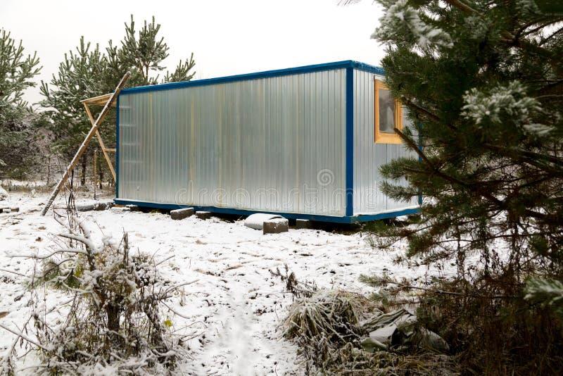cabine Ferro do telhado da direção do reboque do onstruction do ¡ de Ð fotos de stock royalty free