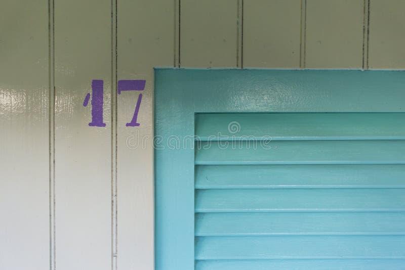 Cabine número 17 fotos de stock royalty free