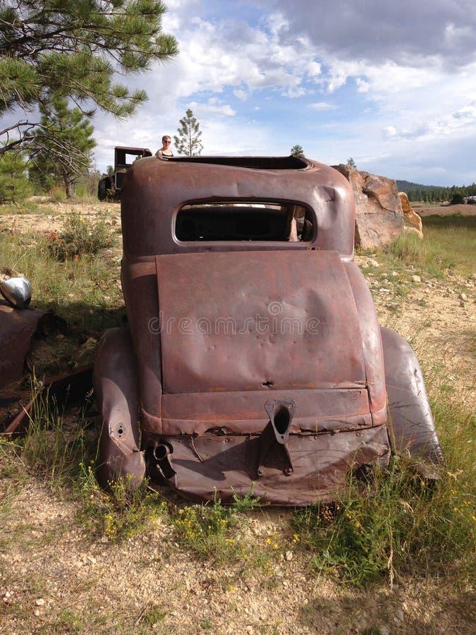 Cabine oxidada foto de stock