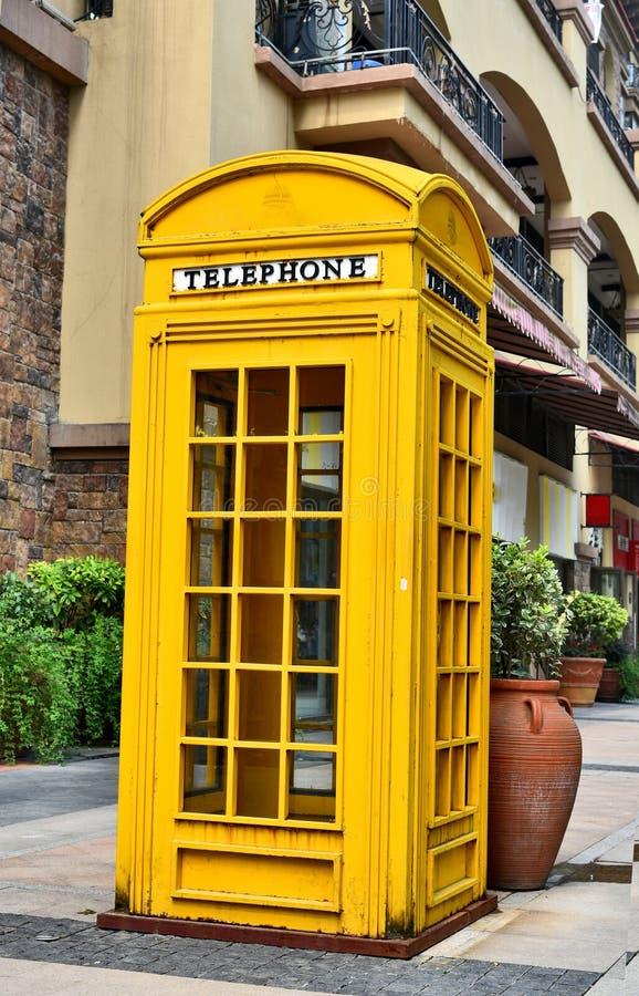 Cabine téléphonique photographie stock libre de droits
