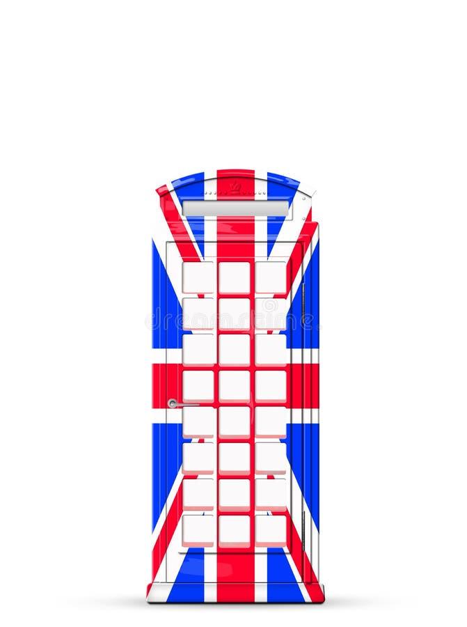 Cabine téléphonique britannique illustration libre de droits