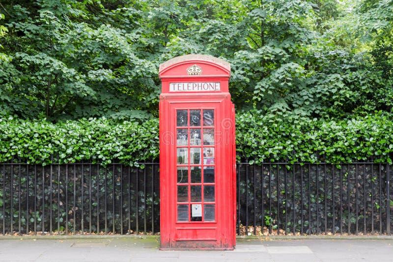 Cabine téléphonique de Londres image libre de droits