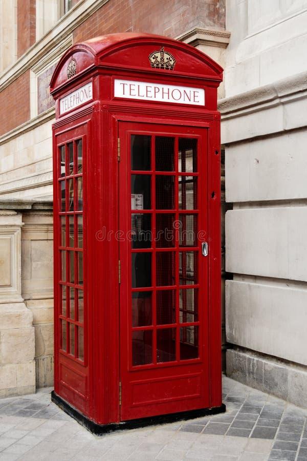 Cabine téléphonique Londres image stock