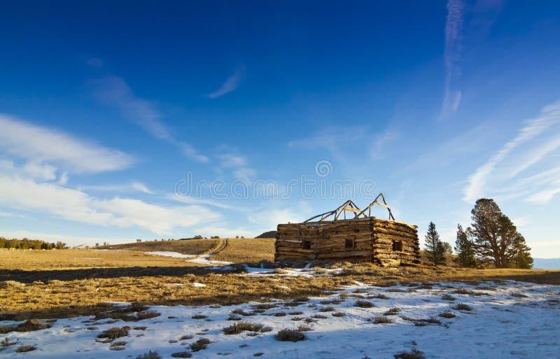 Cabine van het Westen van Belfort de Oude stock afbeelding