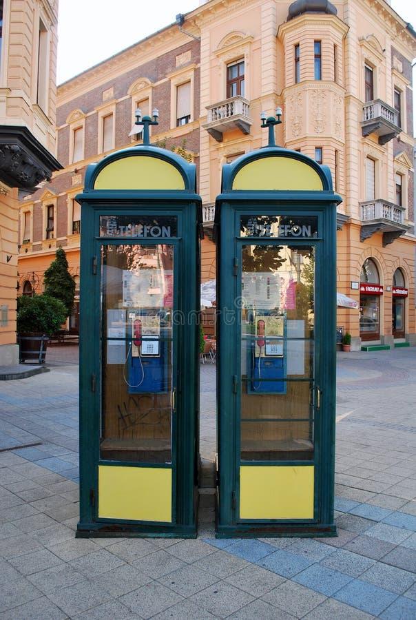 Cabines de telefone foto de stock royalty free