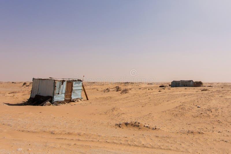 Cabines em Mauritânia imagens de stock