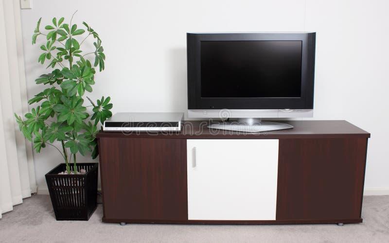 Cabinet de TV photos libres de droits