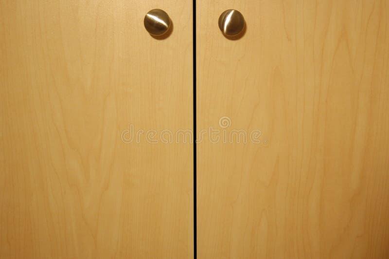 Cabinet doors stock photos