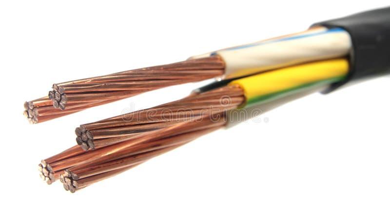 Cable électrique image libre de droits
