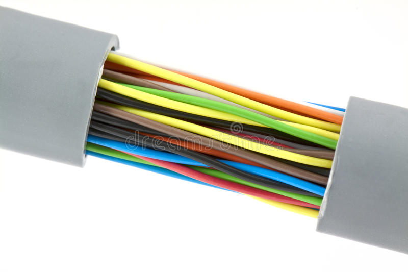 Cable fotografía de archivo