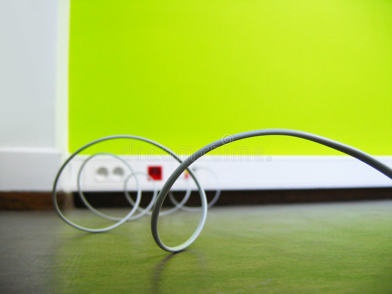 Cable royalty free stock image