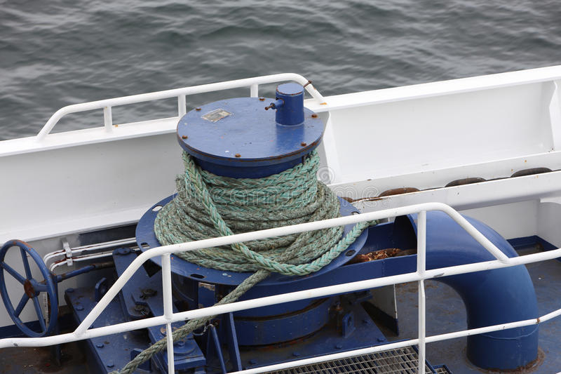 Cable on boat