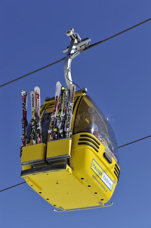 Download Cable Car editorial photo. Image of power, steiermark - 18771096