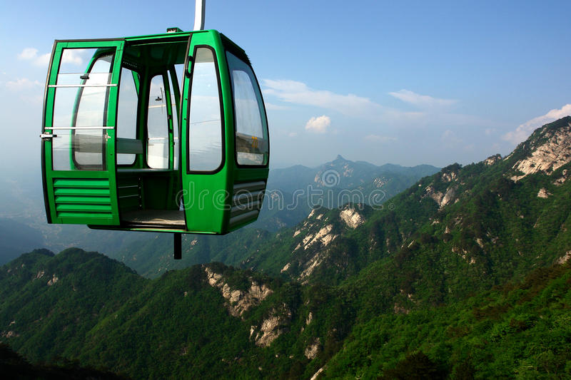 Download Cable car stock image. Image of arrive, upward, alpine - 23915295
