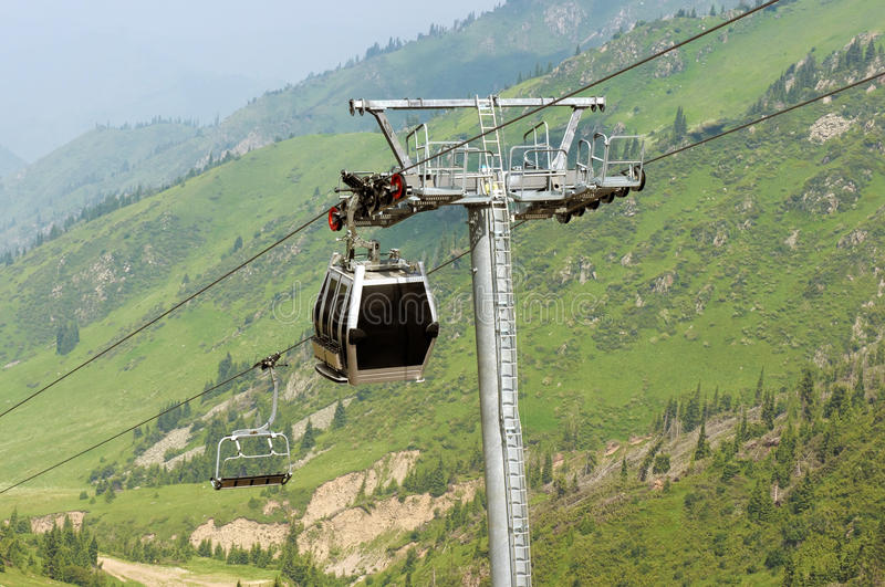 Download Cable car stock photo. Image of height, landscape, country - 25617124