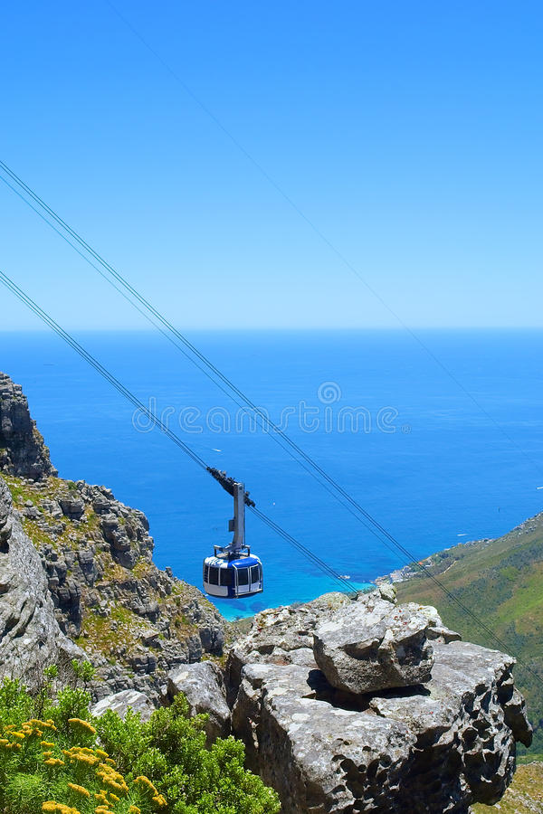 Cable Car Cabin Royalty Free Stock Photo
