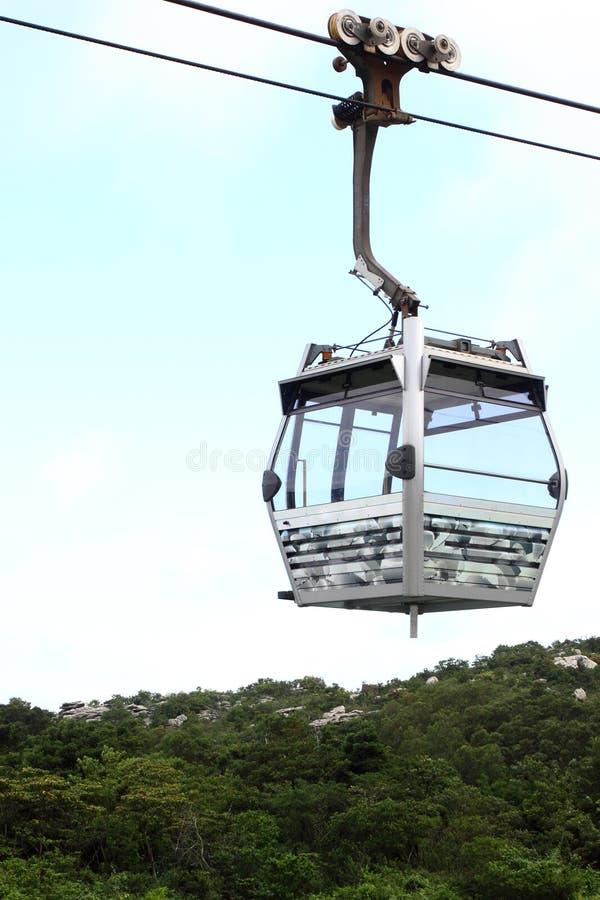 Cable Car in Hong Kong stock image
