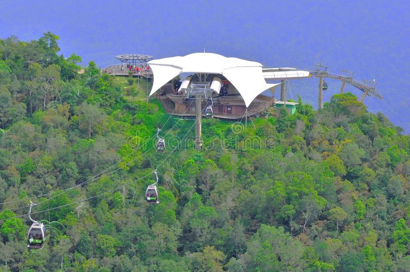Cable Car In Langkawi Island Editorial Image