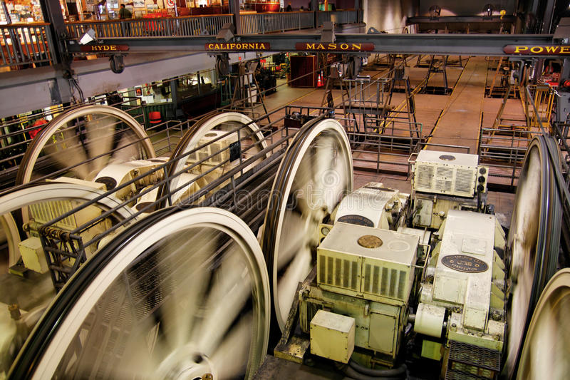 Download Cable Car Museum stock photo. Image of powell, motor - 15083400
