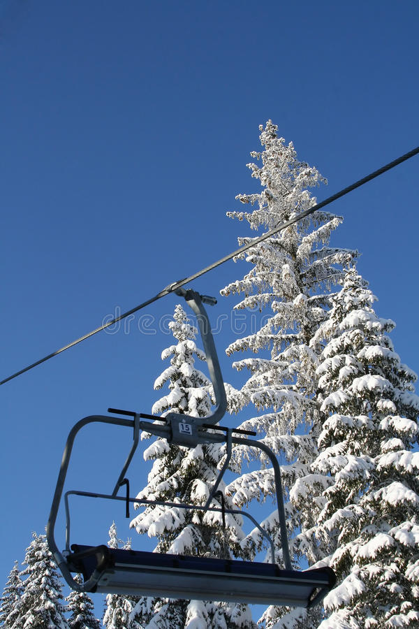 Download A Cable Car To The Ski Resort Of Stock Image - Image: 22943691